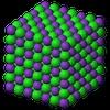 Potassium Chloride 3D Ionic