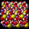 Sodium Thiosulfate Pentahydrate Xtal 3D VdW